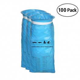 Emesis Bags, 100 Pcs Vomit Bags for Car