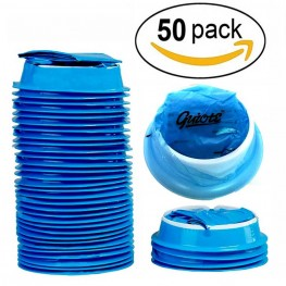Blue Vomit Bags | Disposable Emesis Bags - Pack of 50