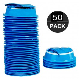 Blue Vomit Bags   Disposable Emesis Bags - Pack of 50