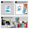 Vomit Bags for Car, 25 Pack Blue Emesis Bags